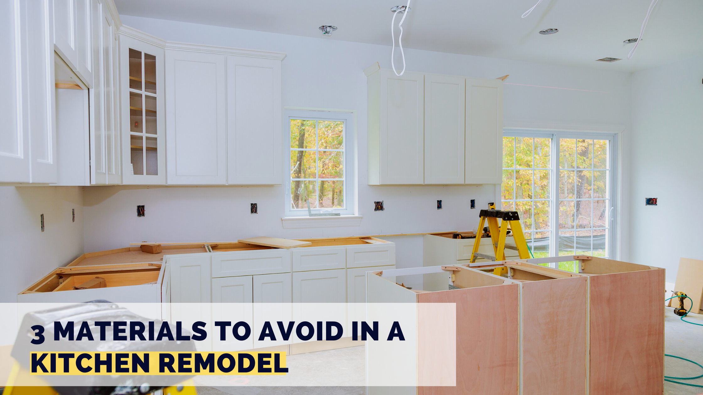 3 Materials to Avoid in a Kitchen Remodel